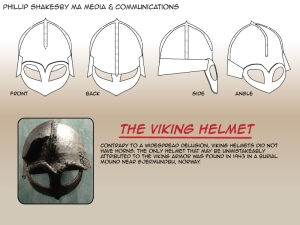 Viking helmets by Phillip Shakseby 01