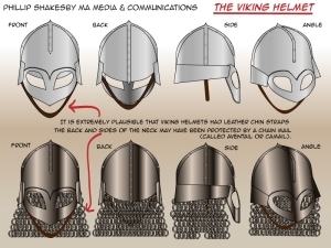 Viking helmets by Phillip Shakseby 02