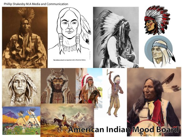 american-indian-Mood-board