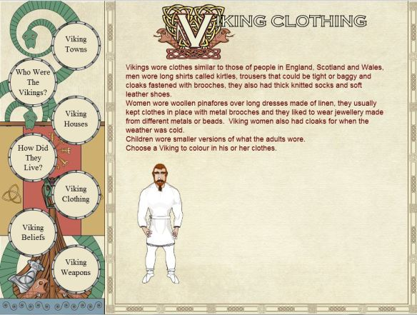 Viking clothing so far