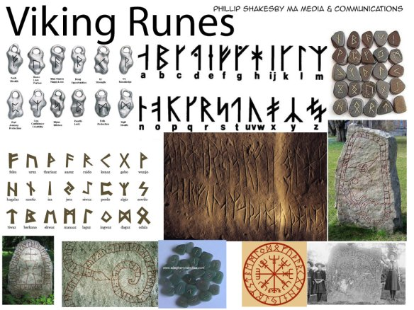 viking_rune_mood_board